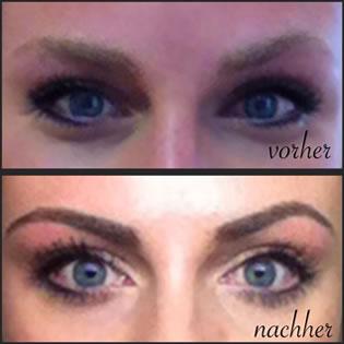Kosmetik Augenbrauen Wimpern